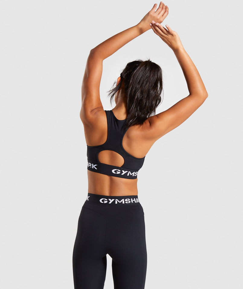 Gymshark Legacy Fitness Sports Bra - Black
