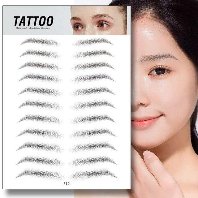 4D Hair-like Authentic Eyebrows
