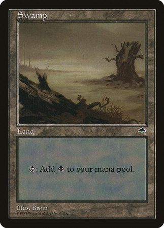 Swamp (Horizontal Log) [Tempest] | MTG Oasis Chile