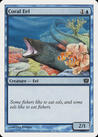 Coral Eel [Ninth Edition] | MTG Oasis Chile