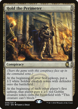 Hold the Perimeter [Conspiracy: Take the Crown] | MTG Oasis Chile
