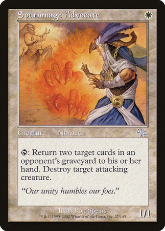 Spurnmage Advocate [Judgment] | MTG Oasis Chile
