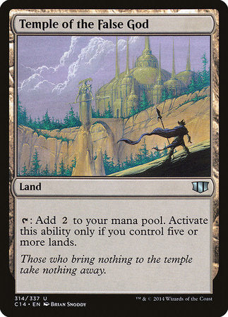 Temple of the False God [Commander 2014] | MTG Oasis Chile