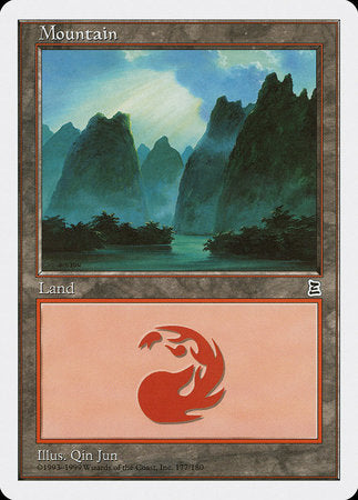 Mountain (177) [Portal Three Kingdoms] | MTG Oasis Chile