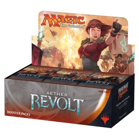 Aether Revolt Booster Box | MTG Oasis Chile