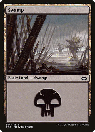 Swamp (144) [Planechase Anthology] | MTG Oasis Chile