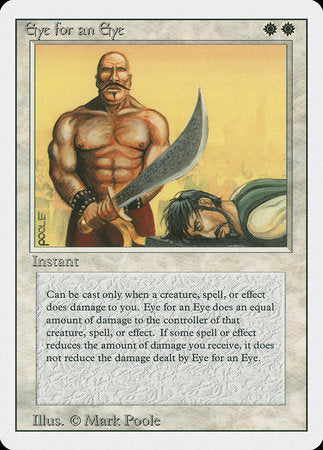 Eye for an Eye [Revised Edition] | MTG Oasis Chile