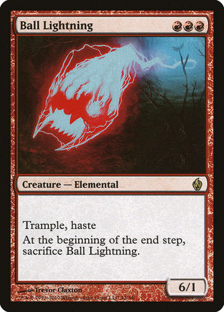 Ball Lightning [Premium Deck Series: Fire and Lightning] | MTG Oasis Chile