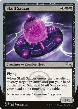 Skull Saucer [Unstable] | MTG Oasis Chile