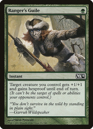 Ranger's Guile [Magic 2014] | MTG Oasis Chile