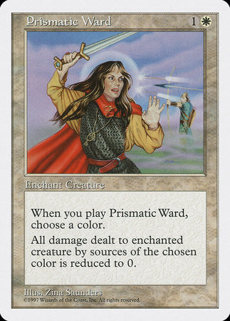 Prismatic Ward [Fifth Edition] | MTG Oasis Chile
