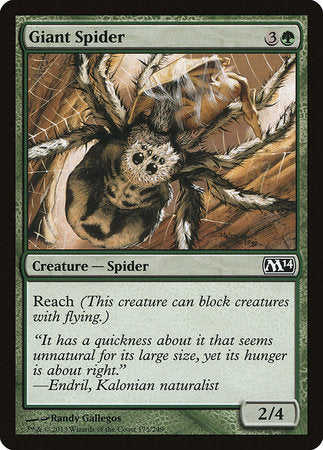 Giant Spider [Magic 2014] | MTG Oasis Chile