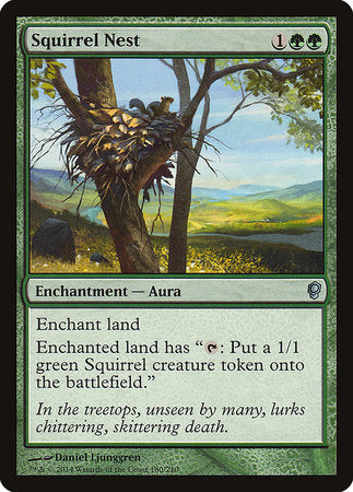 Squirrel Nest [Conspiracy] | MTG Oasis Chile