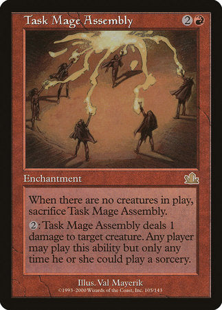 Task Mage Assembly [Prophecy] | MTG Oasis Chile