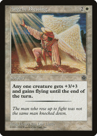 Angelic Blessing [Portal Second Age] | MTG Oasis Chile