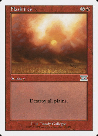 Flashfires [Classic Sixth Edition] | MTG Oasis Chile