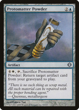 Protomatter Powder [Shards of Alara] | MTG Oasis Chile