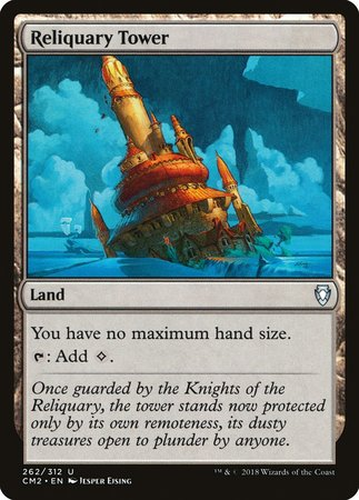 Reliquary Tower [Commander Anthology Volume II] | MTG Oasis Chile