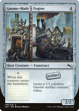 Gnome-Made Engine [Unstable] | MTG Oasis Chile