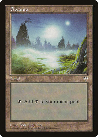 Swamp (Foggy Night) [Mirage] | MTG Oasis Chile
