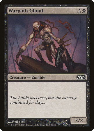Warpath Ghoul [Magic 2010] | MTG Oasis Chile