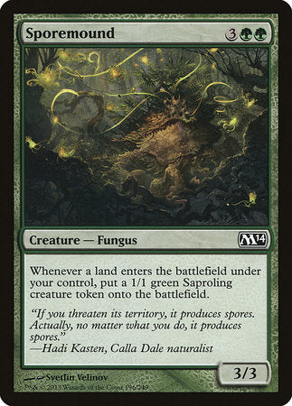 Sporemound [Magic 2014] | MTG Oasis Chile