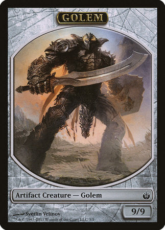Golem Token [Mirrodin Besieged Tokens] | MTG Oasis Chile