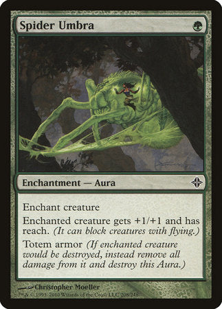 Spider Umbra [Rise of the Eldrazi] | MTG Oasis Chile