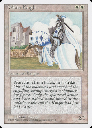 White Knight [Fourth Edition] | MTG Oasis Chile