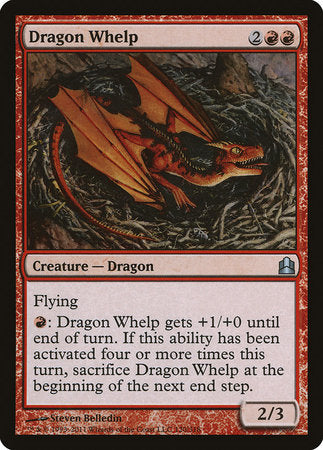 Dragon Whelp [Commander 2011] | MTG Oasis Chile