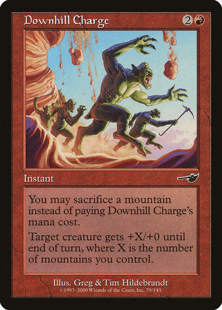 Downhill Charge [Nemesis] | MTG Oasis Chile