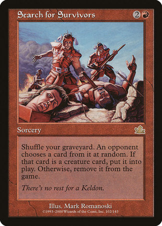 Search for Survivors [Prophecy] | MTG Oasis Chile