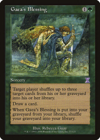 Gaea's Blessing [Time Spiral Timeshifted] | MTG Oasis Chile
