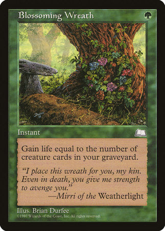 Blossoming Wreath [Weatherlight] | MTG Oasis Chile