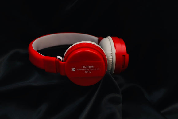 onFire Bluetooth Headset SH12 (red, On the Ear)