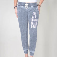Load image into Gallery viewer, Do Things With Love Yoga Pants