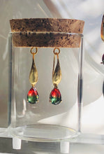 Load image into Gallery viewer, Ombré Holiday Earrings