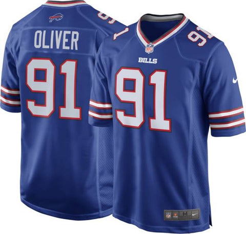 Nike Buffalo Bills Home Game Jersey - Ed Oliver