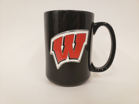 Great American Pewter Coffee Mug Wisconsin Badgers