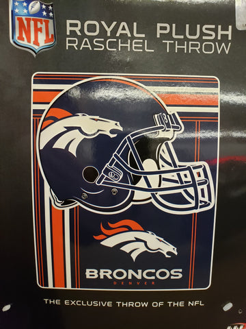 Northwest 50x60 Plush Denver Broncos