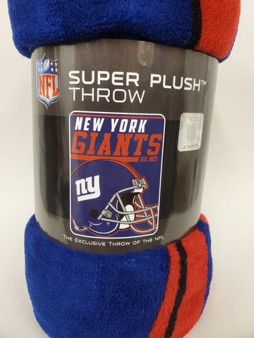 Northwest Fleece Throw New York Giants
