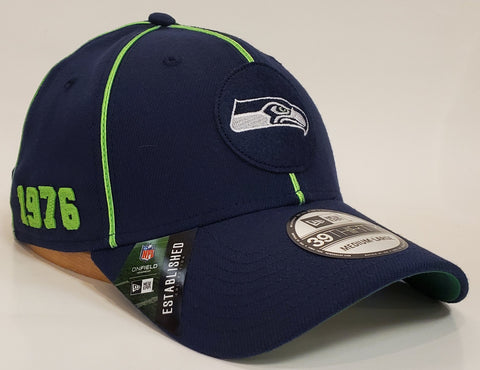 New Era 1920's Sideline Flex Fit 3930 - Seattle Seahawks