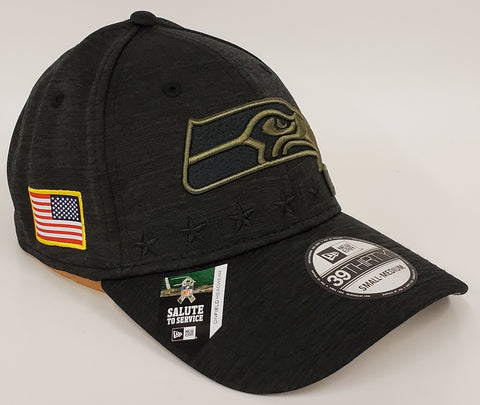 New Era Salute To Service Flex Fit 3930 - Seattle Seahawks