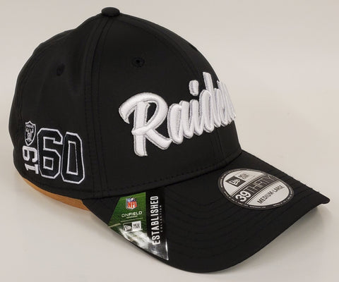 New Era 1960's Sideline Flex Fit 3930 - Las Vegas Raiders