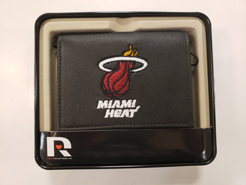 Rico Leather Wallet Miami Heat