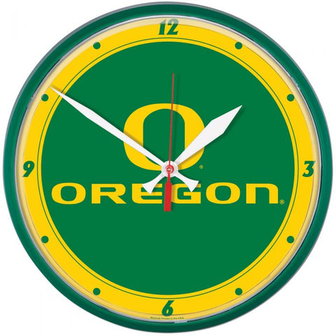 Wincraft Round Clock Oregon Ducks