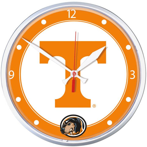Wincraft Round Clock Tennessee Volunteers