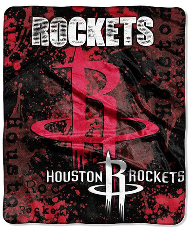 Northwest 50x60 Plush Houston Rockets