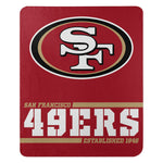 Northwest Fleece Throw San Francisco 49ers