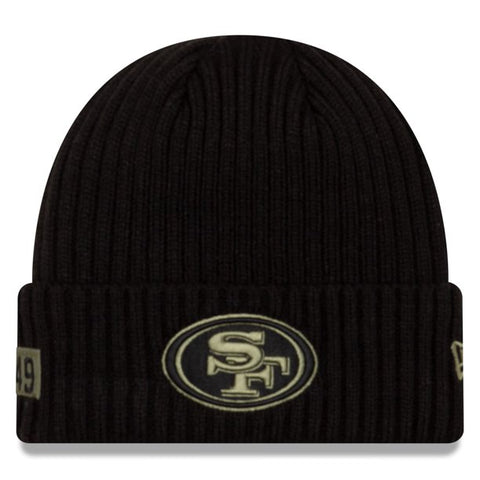 New Era 2020 Salute to Service Knit Hat - San Francisco 49ers